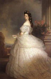 389px-Empress_Elisabeth_of_Austria_with_diamond_stars_on_her_hair