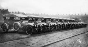 Crossley 20-25 RFC cars