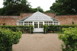 Combermere glasshouse and North Wing June 2014 010