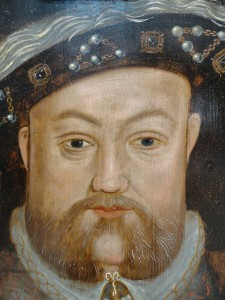 Henry VIII after cleaning retouching and varnishing