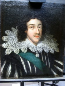 James I after treatment