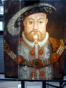 Henry VIII after cleaning and rejoining