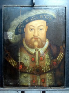 Henry VIII Test clean left