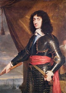 Charles II in exile 1653
