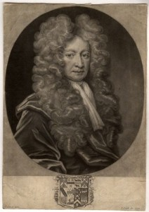 NPG D1528,Sir Robert Cotton, 1st Bt,by; after John Smith; Thomas Gibson
